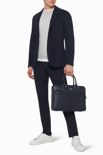 hover state of Award Medium Leather Briefcase