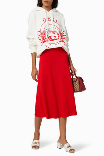 hover state of Boutique Print Sweatshirt