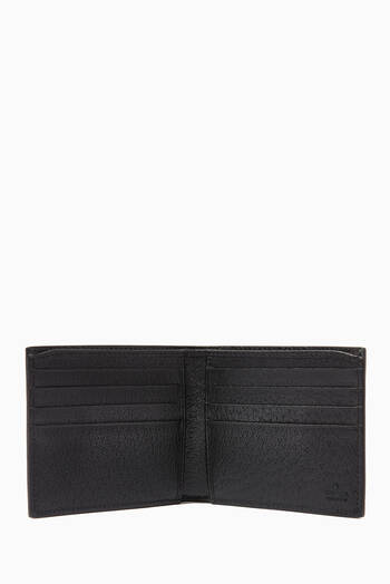 hover state of Off The Grid Bi-Fold Wallet in Leather & Nylon
