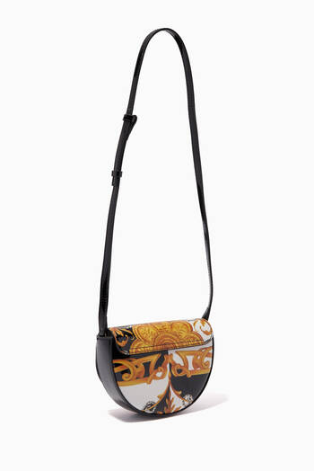 hover state of Shoulder Bag in Acanthus Calf Leather