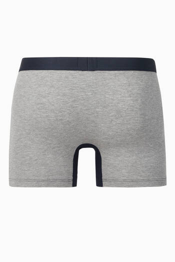 hover state of Contrast Stretch-Cotton Boxers