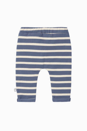 hover state of Gerti Striped Jogging Pants