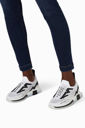 hover state of Sorrento Slip-On Sneakers in Stretch Jersey