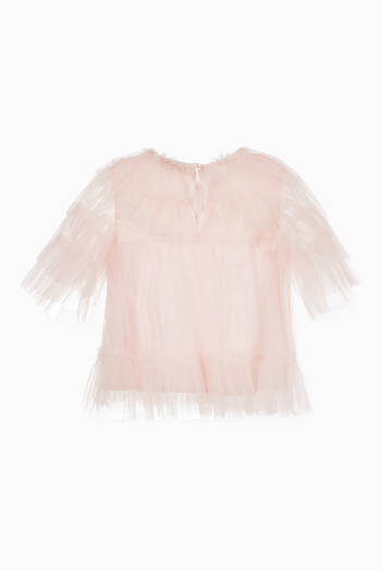 hover state of Musette Tulle Blouse