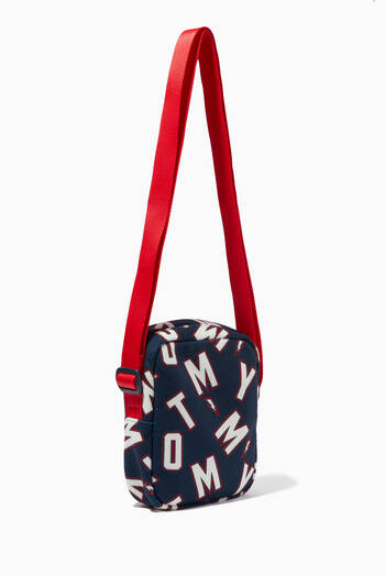 hover state of Core Reporter Crossbody Bag in Recycled Polyester