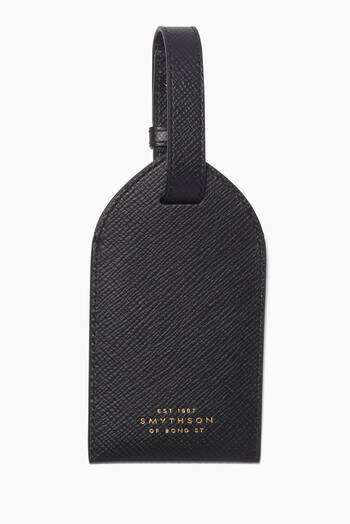 hover state of Luggage Tag in Crossgrain Leather