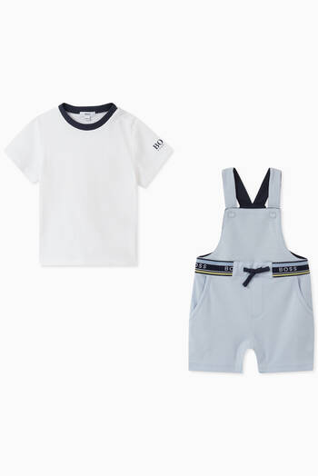 hover state of T-Shirt & Dungarees in Stretch Cotton