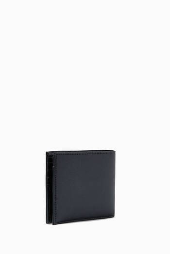 hover state of EA Eagle Bi-fold Wallet in Eco Leather