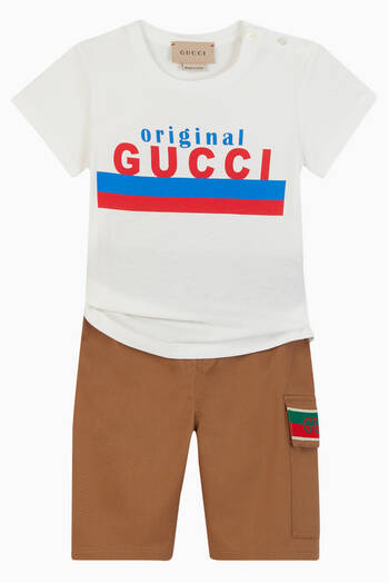 "hover state of ""Original Gucci"" Cotton T-shirt"