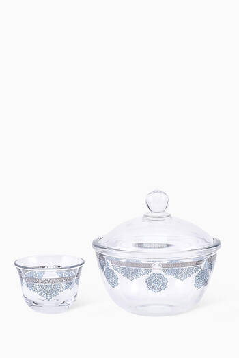 hover state of Selena Cawa Cup & Sugar Bowl, Set of 14