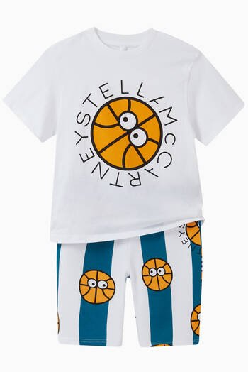 hover state of Basketball Organic Cotton Shorts