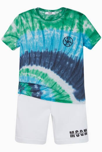 hover state of Tie-Dye Jersey T-Shirt