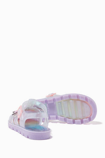 hover state of Mini Unicorn Jelly Sanadals
