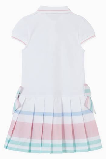 hover state of Polo Dress in Cotton Piqué
