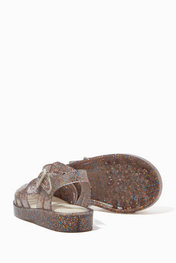 hover state of Possession Glitter Sandals