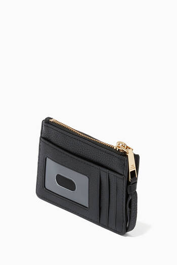 hover state of Softshot Top-Zip Wallet in Leather