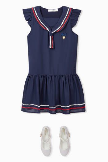 hover state of Kira Sailor Dress