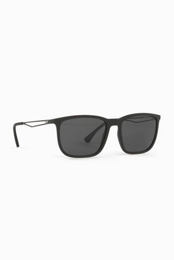 hover state of D Frame Sunglasses in Diacetate
