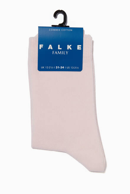 hover state of Light-Pink Family Kids Socks
