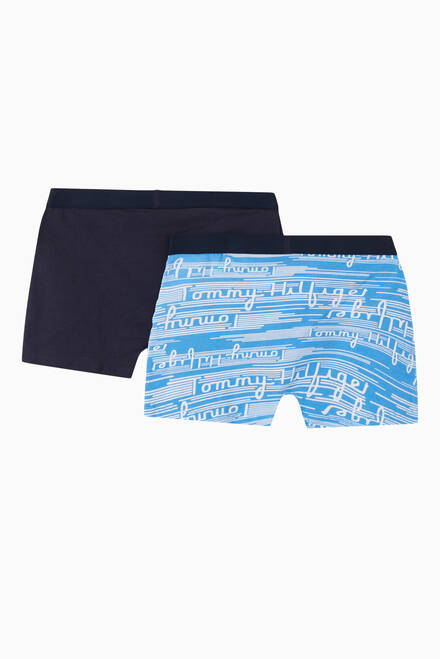 hover state of Signature Tape Trunks, Set of 2