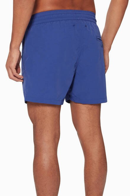 hover state of Navy Sport Swim Shorts
