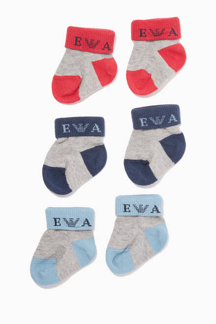 hover state of Three-Pack Sock Gift Set