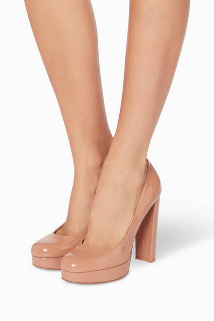 hover state of Chunky Heel Platform Pump
