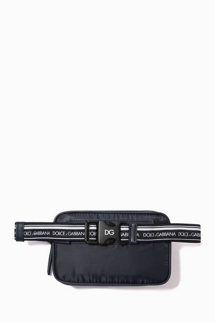 hover state of DG Patch Belt Bag in Nylon
