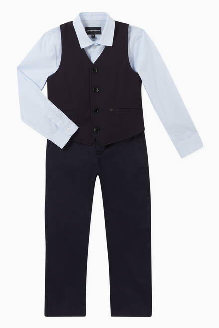 hover state of Classic Single-Breasted Waistcoat