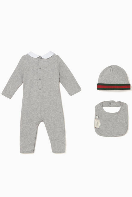 hover state of Web Print Sleepsuit Gift Set