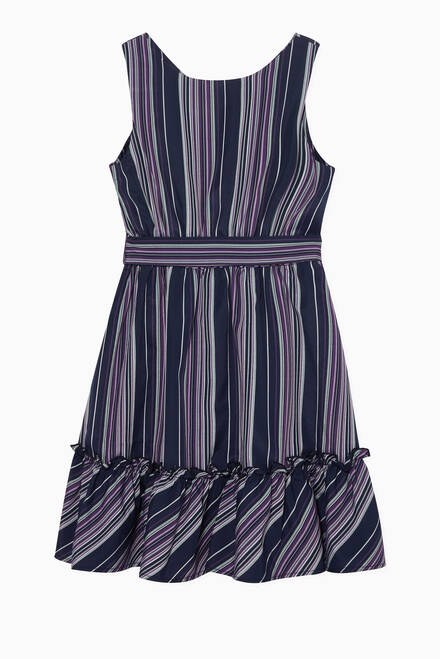 hover state of Sleeveless Striped Dress