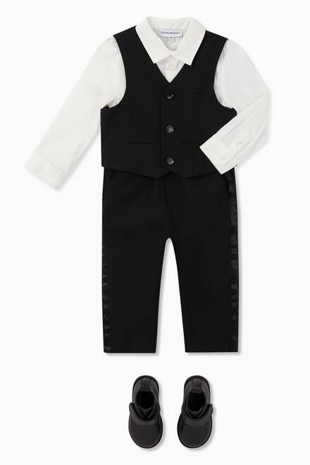 hover state of Shirt, Waistcoat & Trousers Tuxedo Set