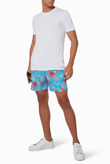 hover state of Arthus Octopus Swim Shorts