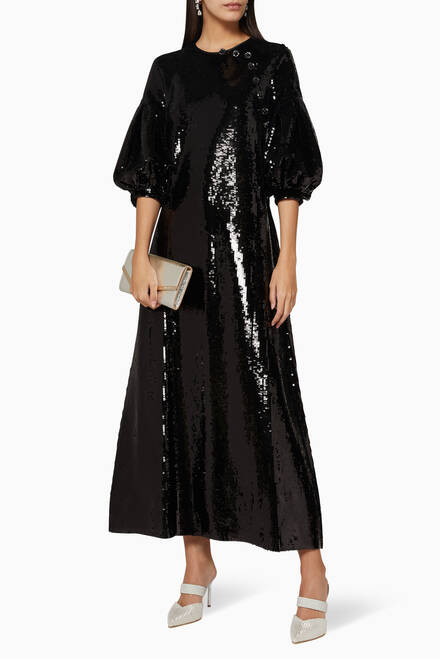 hover state of Celine Sequin Dress