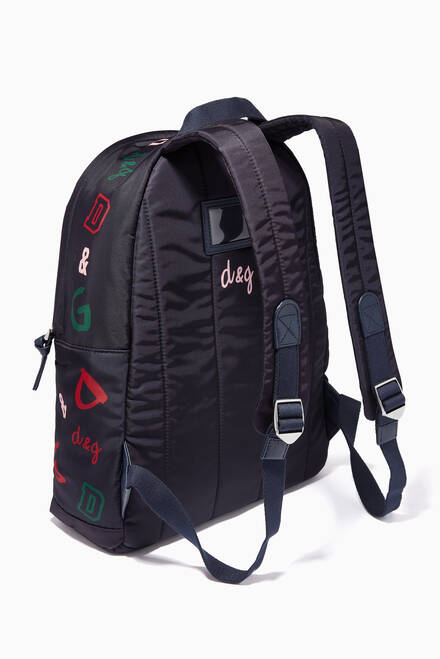 hover state of D&G Backpack in Nylon