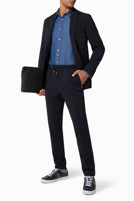 hover state of Tailored-Fit Travel Blazer