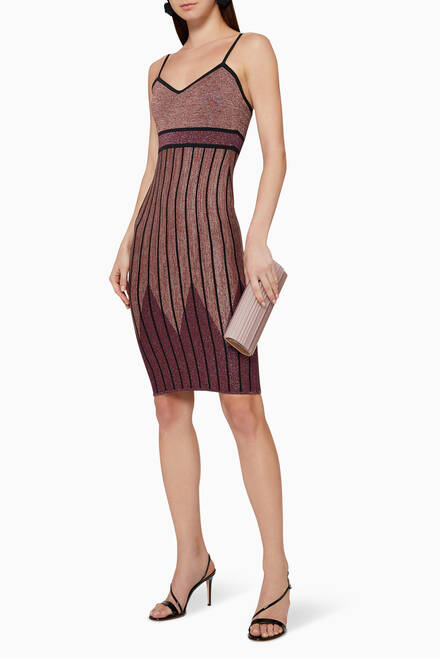 hover state of Knit Bodycon Dress