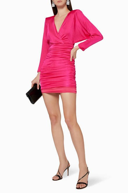 hover state of Blouson Mini Dress
