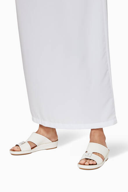 hover state of Arabic Sandals in Leather