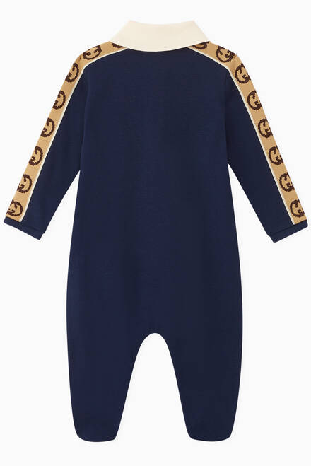 hover state of GG Band Piquet Sleepsuit