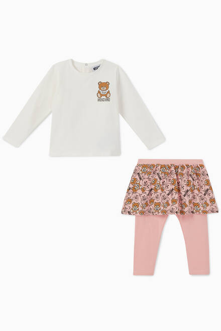 hover state of Bear T-Shirt & Legging Set