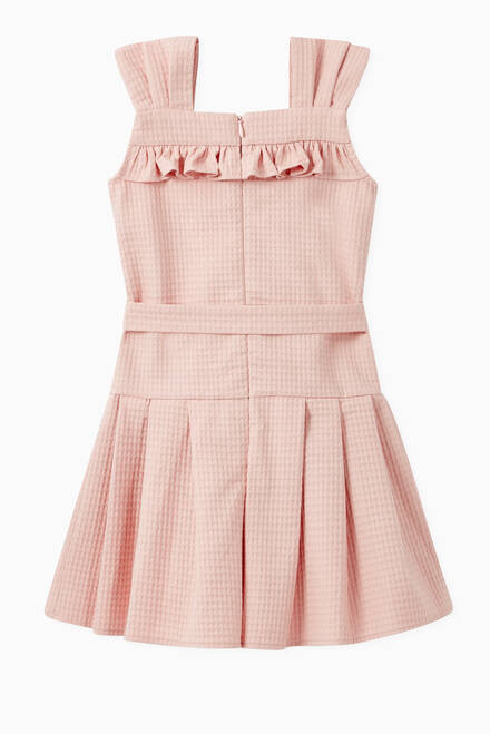 hover state of Frill Belted Dress