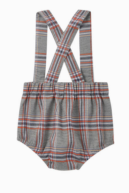 hover state of Bobo Check Print Bloomers
