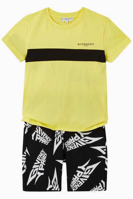 hover state of Logo Jersey Bermuda Shorts