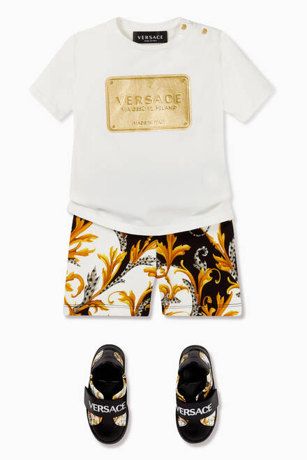 hover state of Acanthus Cotton Shorts