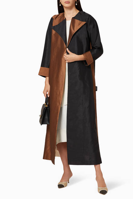 hover state of Oak Two-Tone Abaya