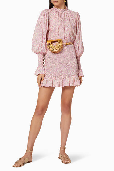 hover state of Emmanuelle Cotton Mini Dress