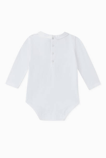 hover state of Pleated Jersey Bodysuit