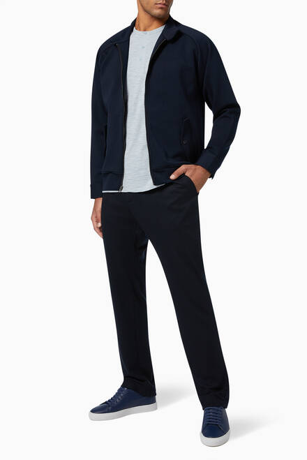 hover state of Tailored Wool Jogging Pants
