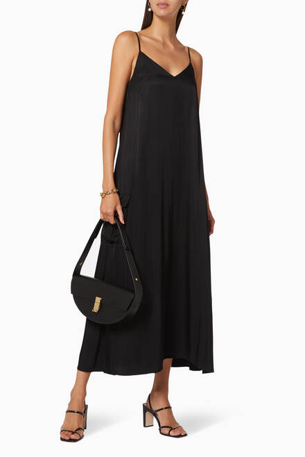 hover state of Lift Off Maxi Slip Dress